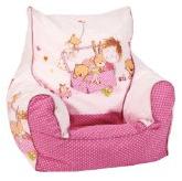 Ein rosa Baby Sitzsack