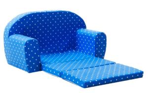 Ein blaues Mini Sofa von Gepetto
