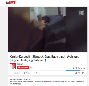Lustiges Video: Sitzsack als Katapult