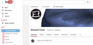 Sitzsack-Test.com bei Youtube