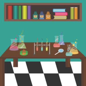 Chemie in Sitzsäcke