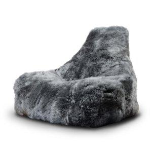 Design Sitzsack in grau