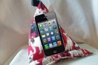 Sitzsack Ständer für Tablet und Handy