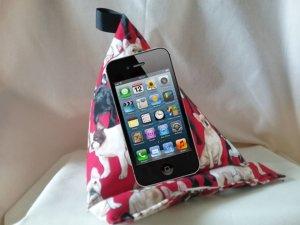 Ein Sitzsack für Handys