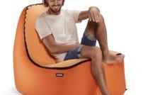 Aufblasbarer Sitzsack: Praktischer Begleiter für unterwegs