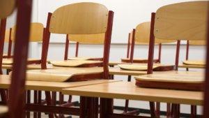 Klassenzimmer ohne Sitzsack