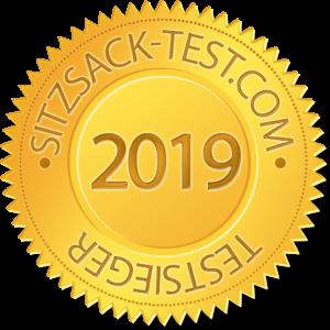 Sitzsack-Test Siegel 2019